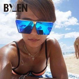 Women Fashion Oversize Square Sunglasses