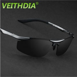 Men Polarized Sunglasses In Aluminum Magnesium Frame