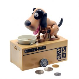 Dog Eat Coin Piggy Bank