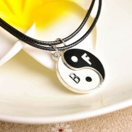 Couple Gift Yin Yang Pendant Necklace